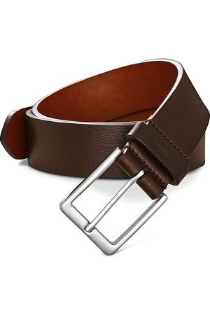 SHINOLA Men Belts - Lightning Bolt Keeper Belt
