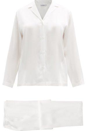 La Perla Silk Satin Pyjama Set - Womens - Ivory