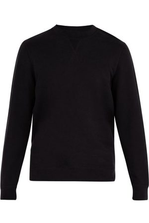 Sunspel Crew-neck Cotton-jersey Sweatshirt - Mens