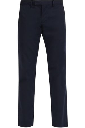 Polo Ralph Lauren Slim-fit Stretch-cotton Chino Trousers - Mens - Navy