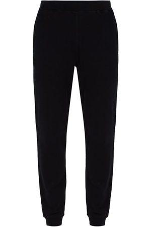 Sunspel Loopback Cotton-jersey Track Pants - Mens