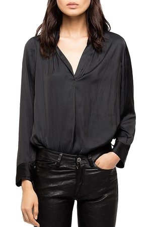 Zadig & Voltaire Women Blouses - Tink Satin Tunic Blouse