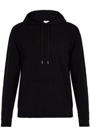Sunspel Cotton Hooded Sweatshirt - Mens