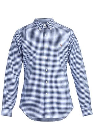 Polo Ralph Lauren Men Casual - Slim-fit Gingham Cotton Shirt - Mens - Multi