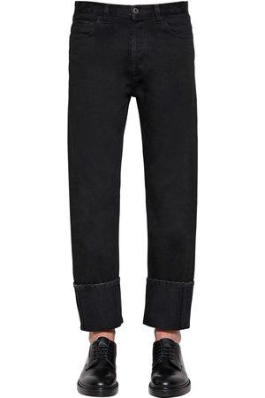 Valentino 21.5cm Cotton Denim Pants