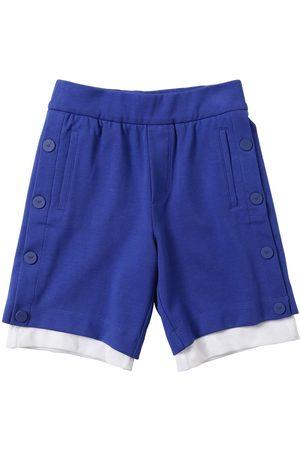 Armani Mesh & Cotton Sweat Shorts