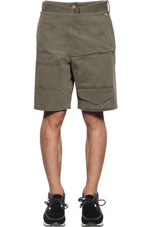 J.W.Anderson Folded Front Cotton Shorts W/ Belt