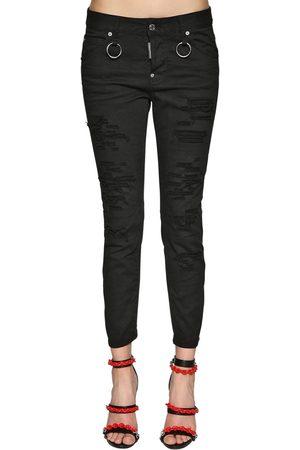 Dsquared2 Cool Girl Bull Cotton Denim Jeans