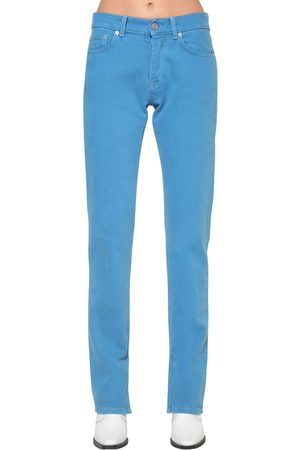 Ganni Sheldon Slim Fit Cotton Denim Jeans