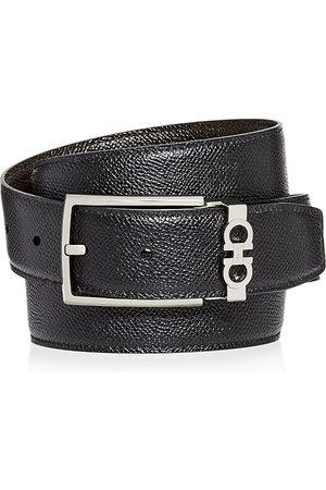 Salvatore Ferragamo Gancini Keeper Reversible Leather Belt