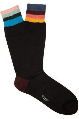Paul Smith Artist Stripe Socks - Mens