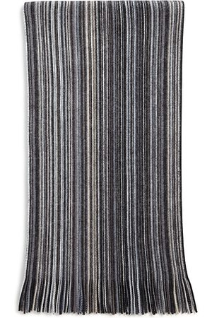 Bloomingdale's Multi-Color Stripe Wool Scarf - 100% Exclusive