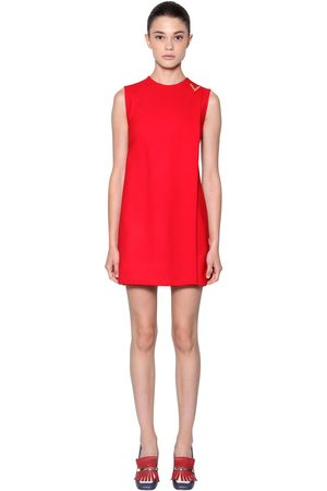 Valentino Women Dresses - Double Stretch Wool Crepe Dress