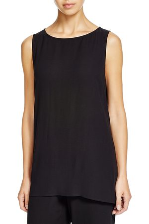 Eileen Fisher System High/Low Silk Tank