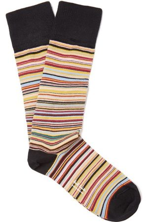Paul Smith Signature Stripe Cotton Blend Socks - Mens - Multi