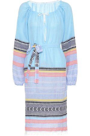 Lemlem Women Tunic Dresses - Sofia cotton-blend tunic dress