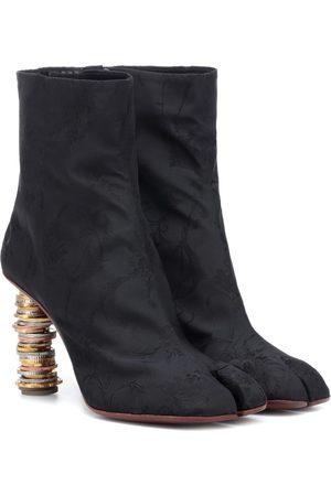 Vetements Women Ankle Boots - Split-toe coin ankle boots
