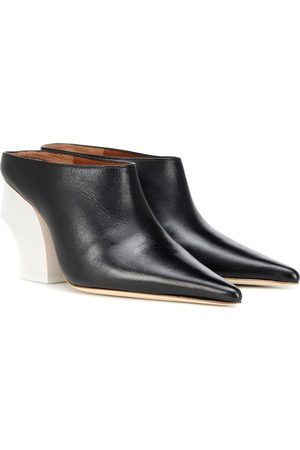 REJINA PYO Jasmin leather mules