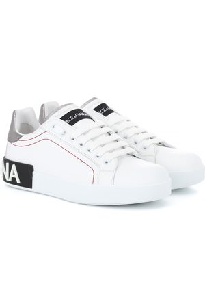 Dolce & Gabbana Women Sneakers - Portofino leather sneakers