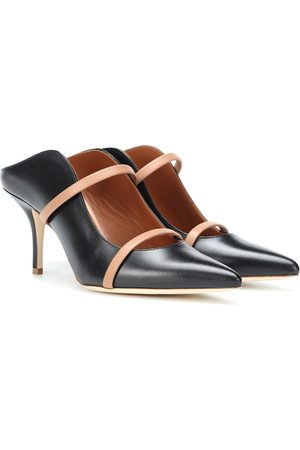 Malone Souliers by Roy Luwolt Women Mules - Maureen 70 leather mules