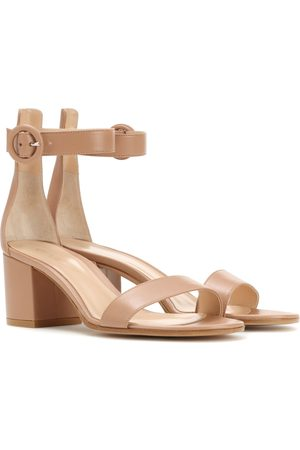 Gianvito Rossi Women Sandals - Exclusive to mytheresa.com – Versilia 60 leather sandals