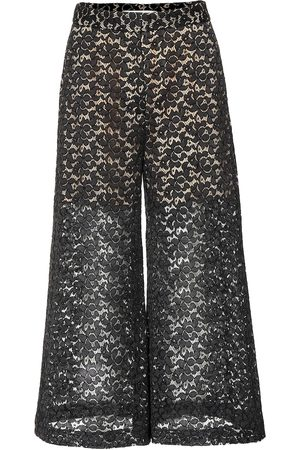 Stella McCartney Women Culottes - Cotton-blend lace culottes