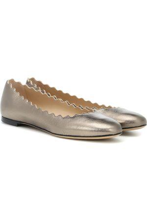 Chloé Lauren leather ballerinas