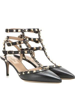 Valentino Women Heels - Rockstud leather pumps