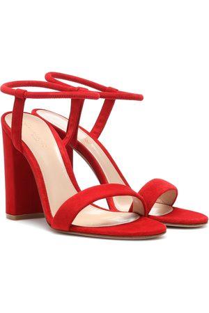 Gianvito Rossi Nikki suede sandals