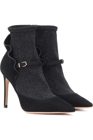 SOPHIA WEBSTER Women Ankle Boots - Lucia suede ankle boots