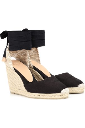 Castaner Women Wedges - Carina canvas wedge espadrilles