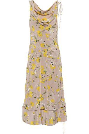 Altuzarra Women Printed Dresses - Norma floral silk dress