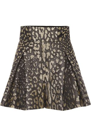 Dolce & Gabbana Women Shorts - High-rise brocade shorts