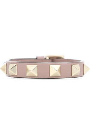 Valentino Women Bracelets - Rockstud leather bracelet