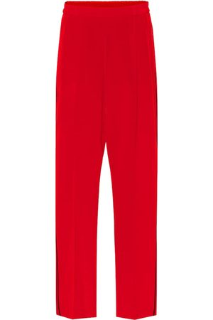 Stella McCartney Cicely silk-crêpe trackpants