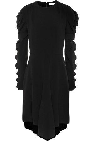 Chloé Ruffled crêpe dress