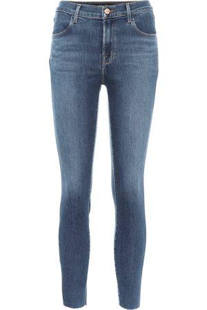 J Brand Women High Waisted - Alana high-rise skinny jeans