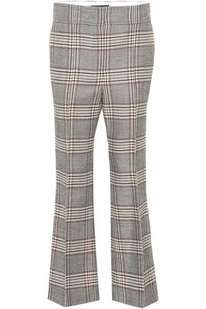 Joseph Women Pants - Ridge checked wool pants