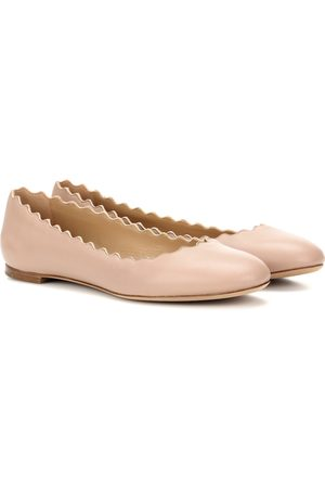 Chloé Women Ballerinas - Lauren leather ballerinas