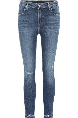 J Brand Women High Waisted - Alana cropped high-rise skinny jeans