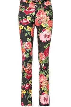 JUNYA WATANABE Floral-printed cotton pants