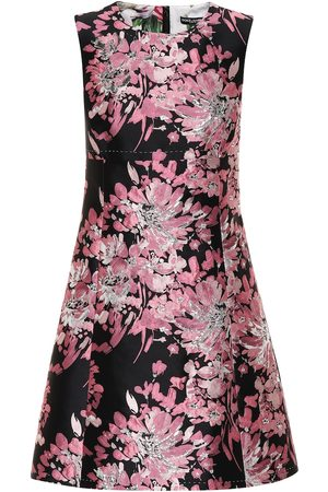 Dolce & Gabbana Women Printed Dresses - Floral brocade dress