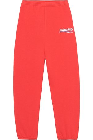 Balenciaga Kids' cotton-blend trackpants