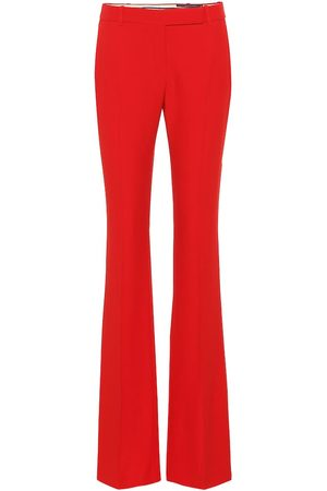 Alexander McQueen Women Wide Leg Pants - Mid-rise flared pants