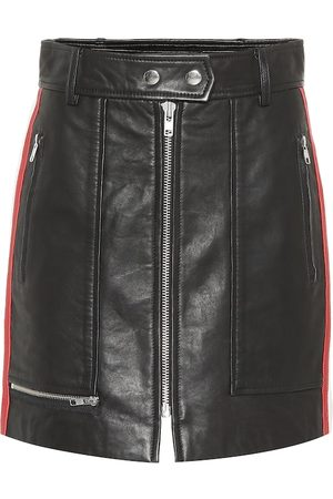 Isabel Marant Alynne leather skirt