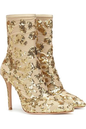 Gianvito Rossi Exclusive to Mytheresa – Daze sequined ankle boots