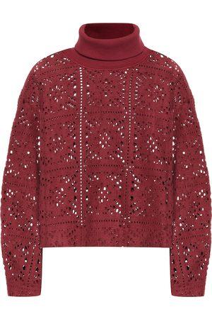 Chloé Lace turtleneck sweater