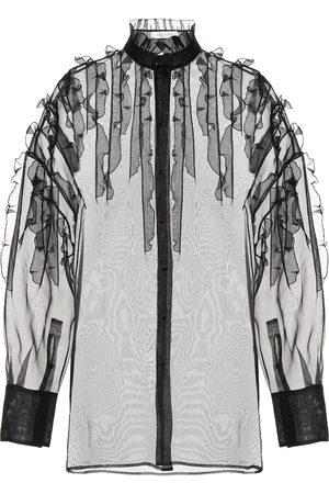 Valentino Sheer silk blouse