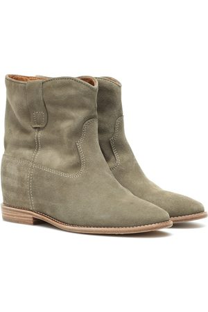 Isabel Marant Women Ankle Boots - Crisi suede ankle boots