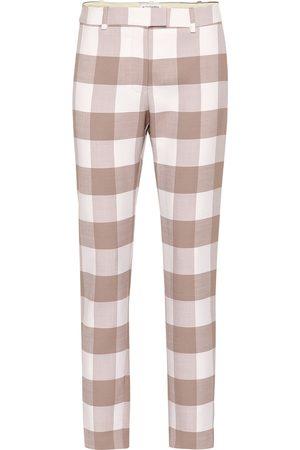 Altuzarra Cropped mid-rise straight pants